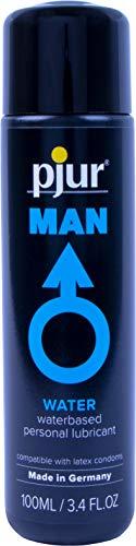 Pjur MAN Water Lubricant 3.4 Fluid Ounce / 100 Milliliter