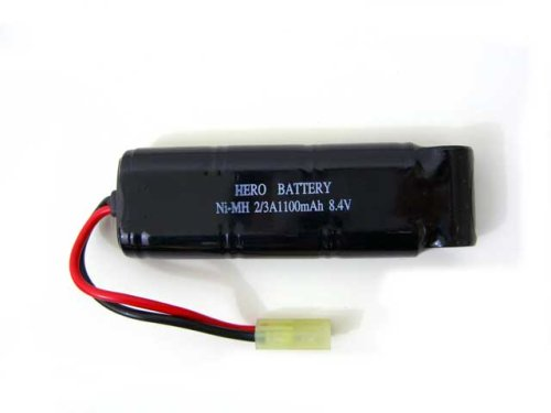 High-Power-Battery-Pack-for-Airsoft-Electric-Gun-84V-1100mAh-mini-type