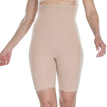 Assets Red Hot Label Body Shapers High-Waist Mid-Thigh Super Control