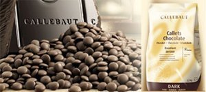 Callebaut 811 53.8% Dark Semi Sweet Chocolate Callets 1 lb