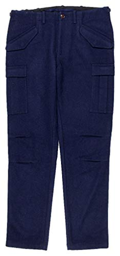 Trousers Crew J Wool - J Crew Wallace & Barnes Mens Wool Navy Cargo Pants Size 32 Regular Style C8807