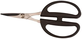 "product image for Wolff Floral Shears - Black Handles High Leverage Scissiors 6 1/4"" Overall"