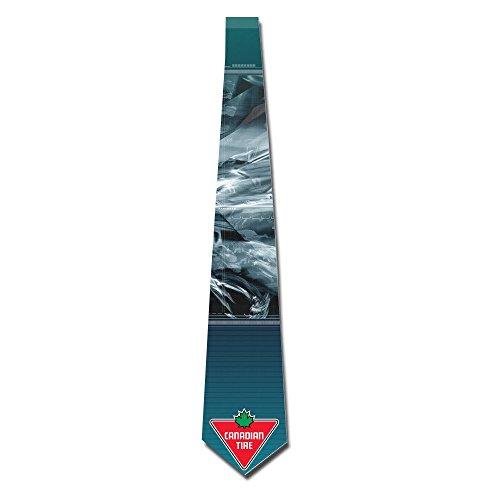gigifashion-mens-canadian-tire-logo-skinny-tie-white
