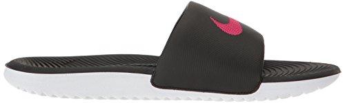 Multicolor Nike Slide Kawa Black Vivid Mujer para Deportivas Sandalias 060 Pink Wmns ga7aqF