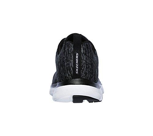 Mujer 0 Zapatillas Energy Dorado High Negro Flex 2 Appeal Skechers Rosa qnBp4B