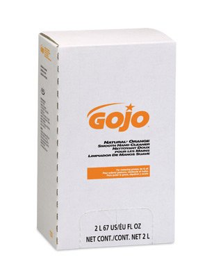 Gojo Orange Smooth Hand Cleaner - Gojo 2000 Ml Refill Natural* Orange Pro 2000 Orange Citrus Scented Smooth Han...