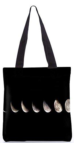 """Snoogg Schatten Des Mondes Einkaufstasche 13,5 X 15 In """"Einkaufstasche Dienstprogramm Trage Aus Polyester Leinwand"""