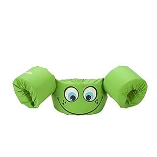 Stearns Original Puddle Jumper Kids Life Jacket   Life Vest for Children, Green Smile