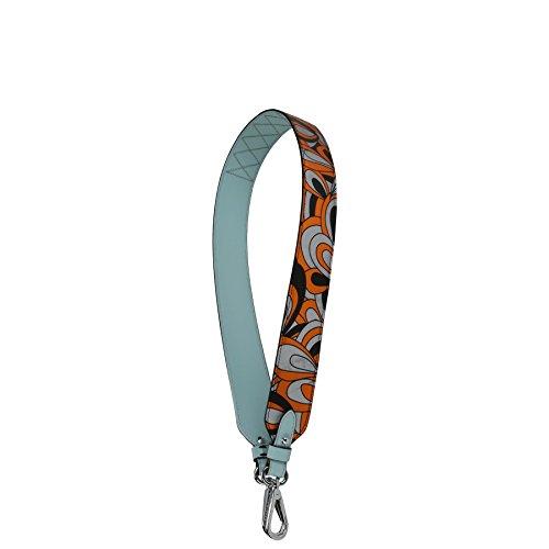 Accessoires Strap OG Og Sangle sérigraphiée en Strap GI métallisée Femme Bandoulières Chèvre Orange Kesslord et Orange q4Hwx