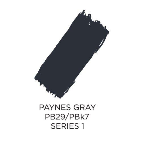 Akua Intaglio Print Making Ink, 8 oz Jar, Paynes Gray (IIPA) by Akua