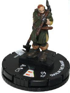(Heroclix The Hobbit: An Unexpected Journey #006 Dwalin the Dwarf with Character)