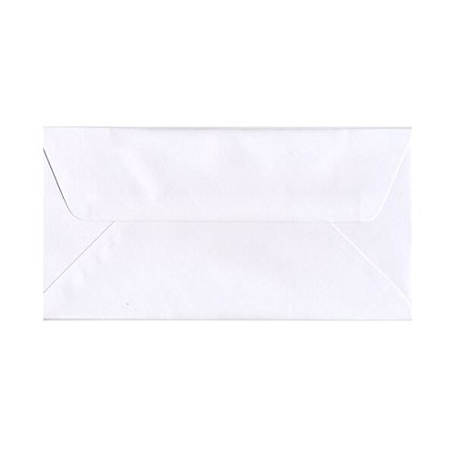 JAM PAPER #16 Commercial Envelopes with Wallet Flap - 6 x 12 - White - -
