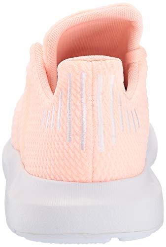 adidas Originals Baby Swift Running Shoe, Clear Orange/Weiss-Schwarz/White, 4K M US Toddler by adidas Originals (Image #2)