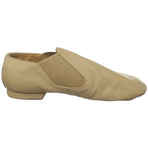 Sansha Moderno Leather Slip-On Jazz Shoe Tan 9IV5Zoxr