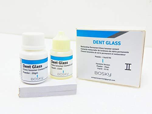 BOSKY Permanent Dental Repairs and Filling (Powder + Liquid ) ()