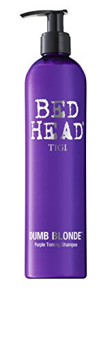 TIGI Bed Head Dumb Blonde Purple Toning Shampoo, 13.5 Ounce