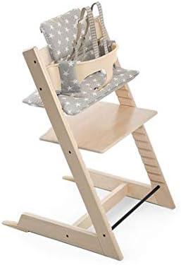 Stokke Tripp Trapp Cushion, Grey Star by Stokke: Amazon.es: Bebé