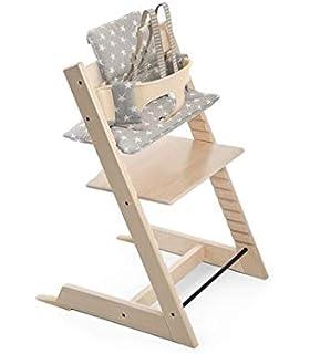 Amazon.com : Stokke Steps Baby Set Cushion, Timeless Grey : Baby