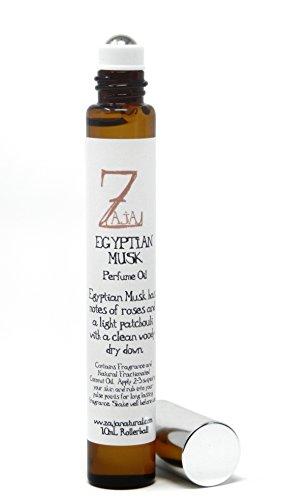 Egyptian Musk Perfume Oil by ZAJA Natural 10 mL