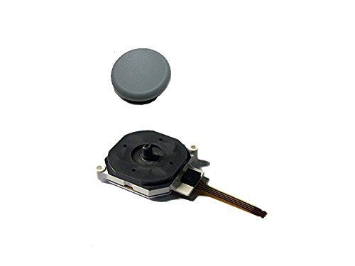 New Replacemen 3D Button Analog Controller Joystick Stick for Nintendo 3DS LL/XL With Stick Cap.