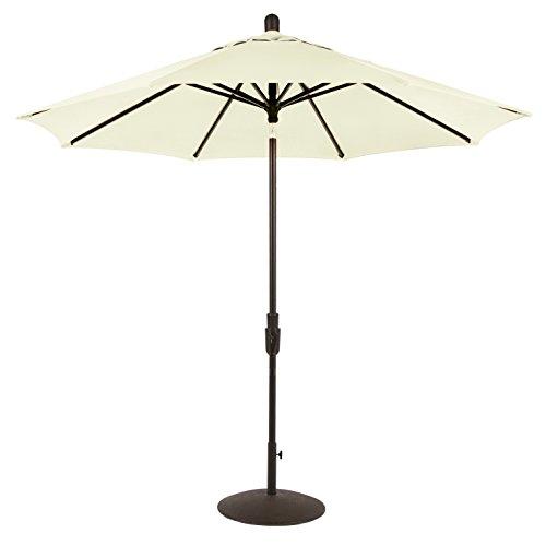 Amauri Outdoor Living Zuma Shore Collection Outdoor Patio Umbrella, 9ft, with Natural Color Sunbrella Shade