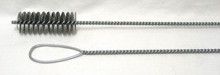 Furnace Boiler Brush, Dia 1 1/2, Length 42