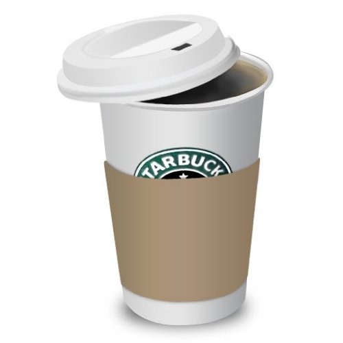 STARBUCKS TRAVEL LID FOR 12-16-20 OUNCE CUPS. HOT CUP 10 SLEEVES OF 100 LIDS. 1,000 LIDS PER CASE