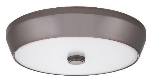 Lithonia Lighting FMDDHL 14 20830 BZA M4  15-Inch 3000K LED Deep Pan Flush Mount, Bronze