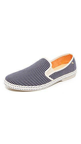 Slip Loafers Dark Jean Men's Cotton On Rivieras Jean Blue PxYFAO