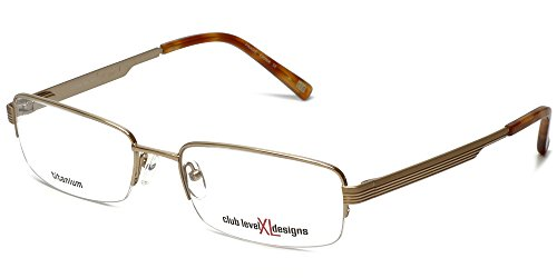 Silver Dollar Designer Titanium Reading Glasses CLD 944 59mm in Yellow & Gold - Dollar Glasses 100
