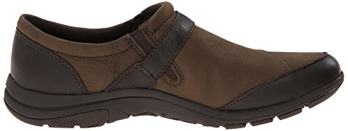 Merrell Womens Dassie Fibbia Slip-on Marrone Carbone