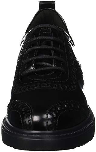 C9999 Basse Thymar Ginnastica Donna Da D Geox F black Scarpe Nero YAvqnw