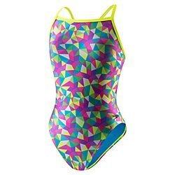 Speedo Women's Flipturns Star Spangled Propel Back Swimsuit (34)
