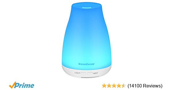 Amazon Innogear 2nd Version Aromatherapy Essential Oil Diffuser