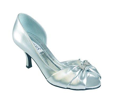 Vestir Lexus De Silver P u Para Mujer Zapatos q4vxw4TA