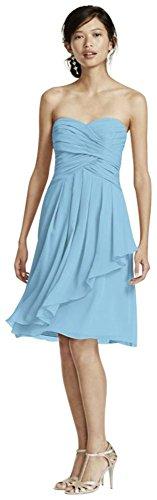 Buy capri color bridesmaid dresses - 7