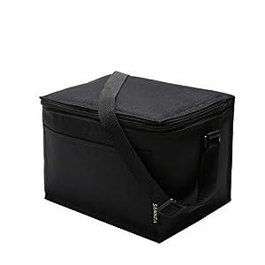 Yuiopmo Tinta Unita Borsa Termica Manutenzione di Freddo e Caldo Porta Pranzo Cibo Alimentazione Lunch Box Campeggio… 1 spesavip