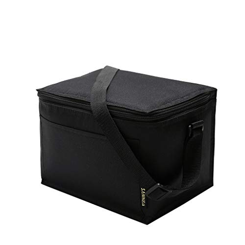 - AHAYAKU Insulated Lunch Bag for Women Men Kids Cooler Adults Tote Food Lunch Box Black