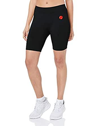 Nicky Kay Seamless Bike Shorts, Black, XS