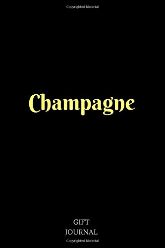 Champagne: 6 x 9 inches, Lined Composition Journal, Gift Journal, Champagne by Gift Journal