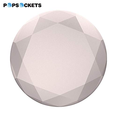 PopSockets: Collapsible Grip & Stand for Phones and Tablets - Rose Gold Metallic Diamond by PopSockets (Image #2)