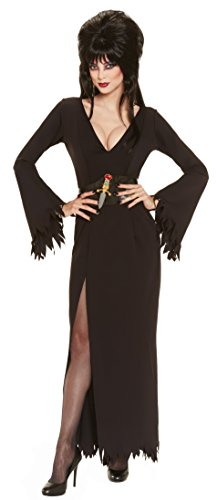 [Elvira Mistress Of The Dark Deluxe Grand Heritage Collection Costume, Black, Small] (Halloween Costumes Elvira)