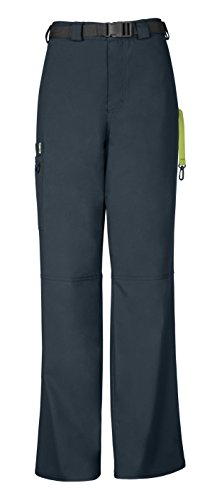Code Happy Men's Straight Leg Belted Cargo Pant, Pewter, Medium (Belt Pewter Mens Buckle)