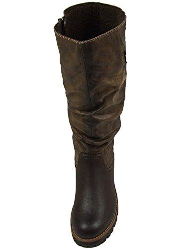 s.Oliver - Botas Antideslizantes de material sintético mujer marrón - Mocca ( Braun )