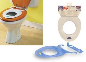 Potty Training Toilet : Amazon flip toilet potty seat blue toilet training