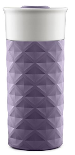 Ello Ogden BPA Free Ceramic Travel Mug with Lid, 16 oz
