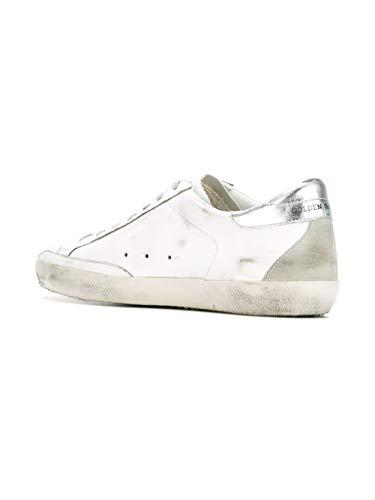 Goose Pelle Bianco Uomo Gcoms590w77 Sneakers Golden mvPN8nyO0w