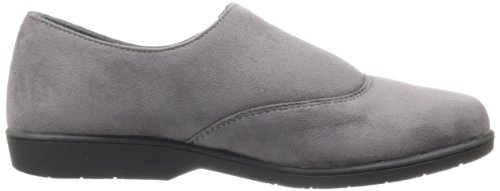 Propet Womens Shannon Loafer In Velluto Grigio