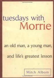 Tuesdays with Morrie 1st (first) edition Text Only