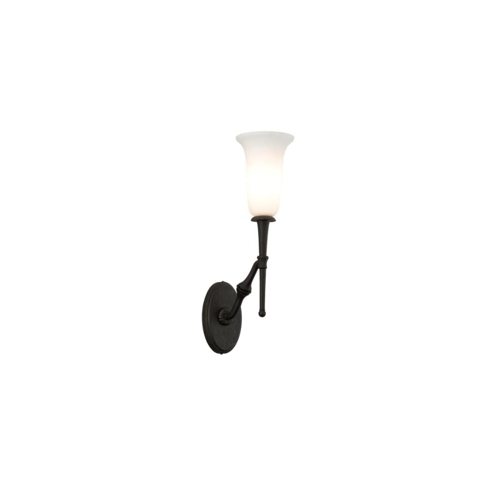 Troy 28954282 One Light Colonial Iron Wall Light